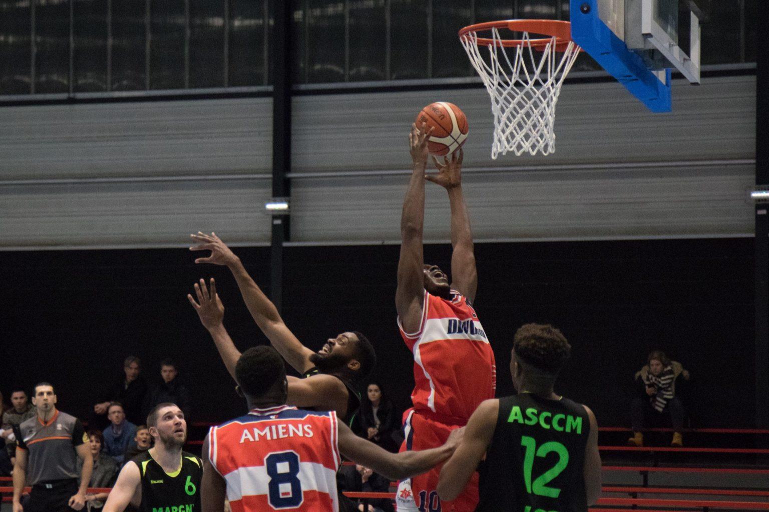 Basket ball l 39 amiens scbb passe tout pr s gazettesports for Domon frederic