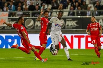 football - ligue 1 - amiens sc vs montpellier - eddy gnahore _0007 - leandre leber - gazettesports