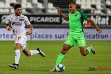 football - ligue 1 - amiens sc vs leganes amical - jordan lefort _0003 leandre leber - gazettesports