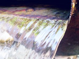 All who are thirsty, all who are weak come to the fountain dip your heart in the stream of life