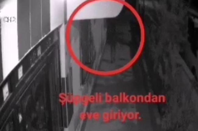 Ev ve iş yerlerinden hırsızlık anları güvenlik kamerasında