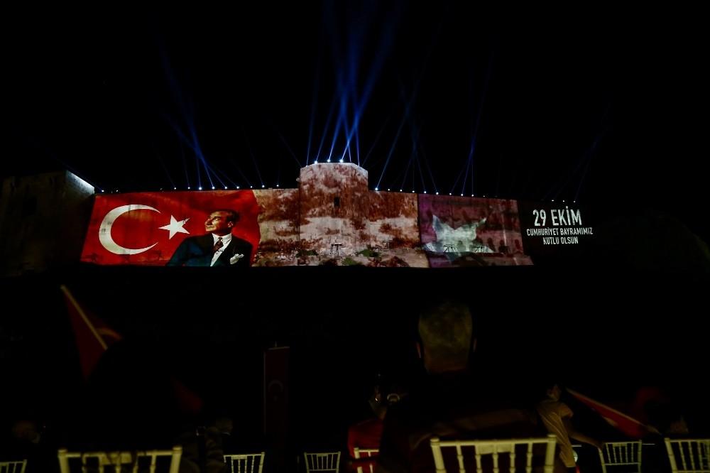 29 Ekim'de Gaziantep kalesinde görkemli kutlama