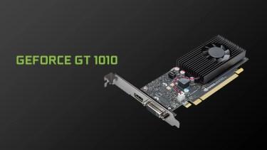 真のローエンドNVIDIA GeForce GT 1010登場。GT 710の後継モデル