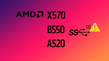 USB接続不良がAMD 500シリーズマザーボードで発生中。AMDに報告を