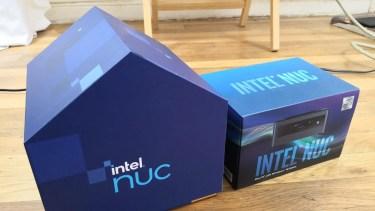 Intel NUC11の箱は家型に?一方でCore i9の箱は質素な形へ