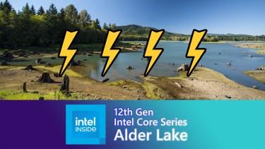 Alder Lake-SはRocket Lake-Sに比べて消費電力が増える模様