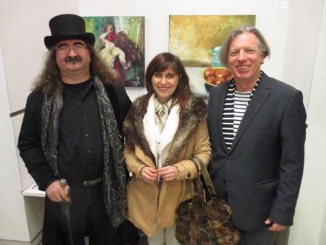 Gazmend Freitag, Eddie Müller, Gabriela Pirošková- © Eddie R. Müller