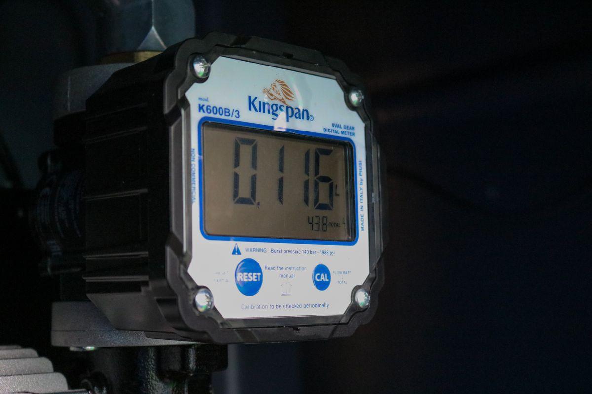PIUSI K600 B/3 átfolyásmérő