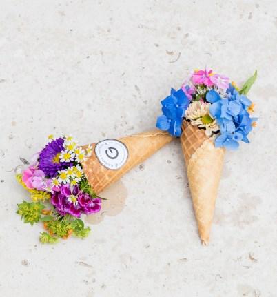 Cornets de fleurs