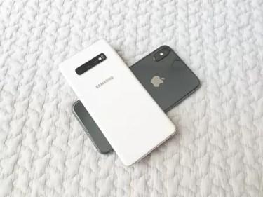 [レビュー]永遠のライバル対決。「iPhone XS Max」と「Galaxy S10+」結局どっちがいいのか比較してみた。