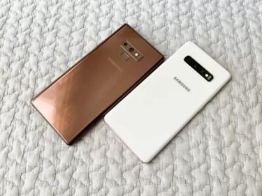 [レビュー]似たり寄ったり?半年でどこまで進化したか「Galaxy Note9」と「Galaxy S10+」を比較してみた。