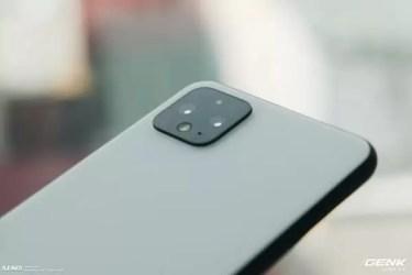 Pixel 4のカメラ。Pixel 3からセンサーは進化なし。