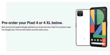 正式発表直前。「Google Pixel 4」カナダで予約開始。その全貌が明らかに