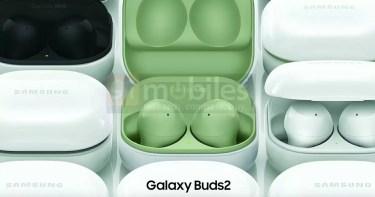 Galaxy Buds 2の公式プレス画像公開。デザインが刷新に