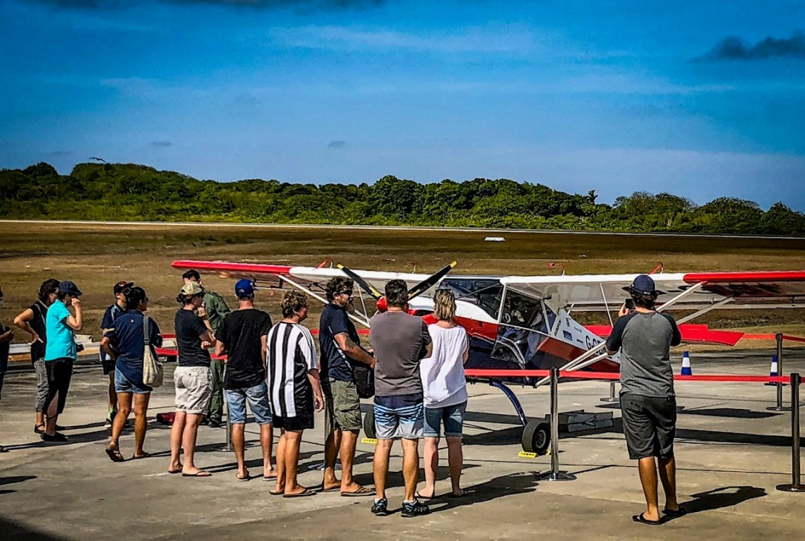 GBNZ Christmas Island Static Display
