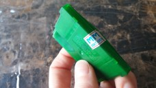 """Cartridge is taped together! """"Don't Open""""."""