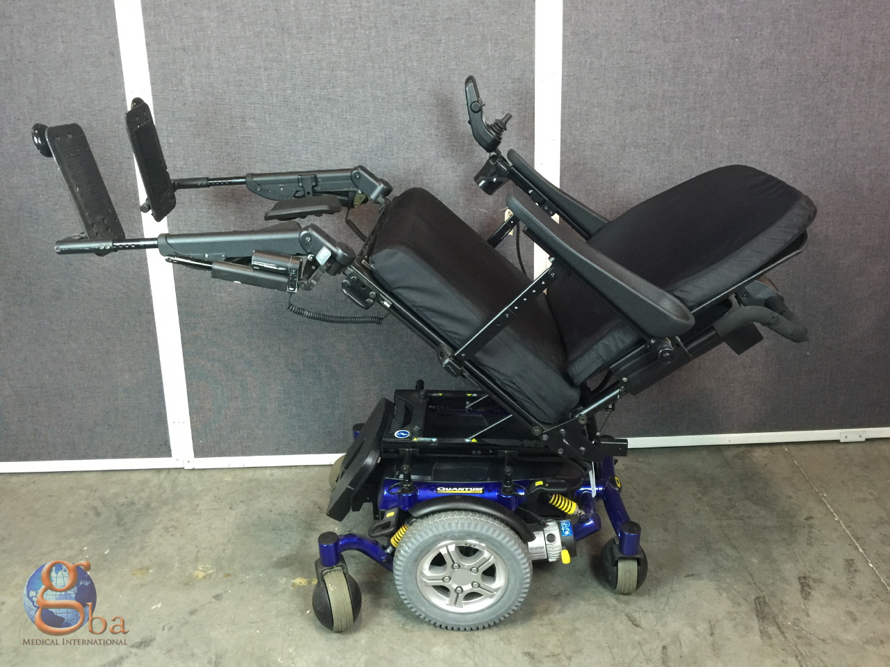Quantum Chair Pride Mobility Quantum 6000z Wheelchair Power Tilt Recline