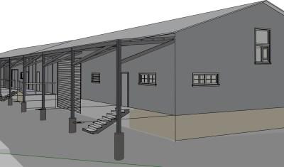 Cerrillos Road Warehouse design plan