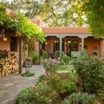 Camino Escondido Addition and Remodel - Santa Fe Renovations - garden