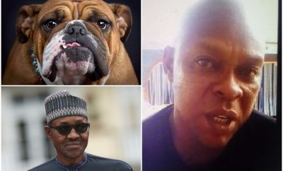 naming dog after President Buhari