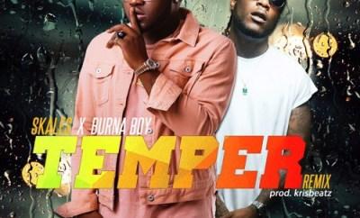 Skales – Temper (Remix) Ft. Burnaboy