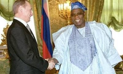 President, Obasanjo Bled Nigeria