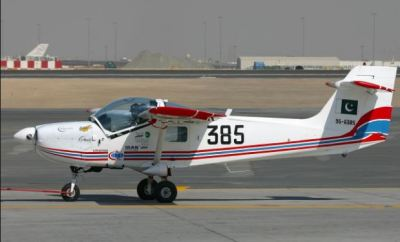 Super Mushshak aircraft