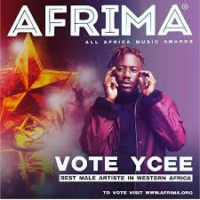 AFRIMA 2017 Ycee wins Best African Hip-hop Artist at music award ceremony