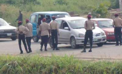 Driver Crush FRSC Officer Standing On The Road To Death In Akure