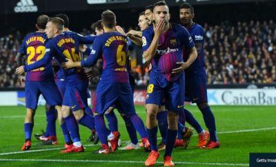 Barcelona Draw 1-1 Against Valencia