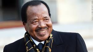 President Paul Biya of Cameroon marks 35 years