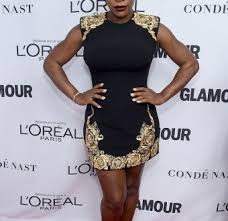 Serena Williams shows off post baby body on the red carpet for the Glamour Women Of The Year Awards