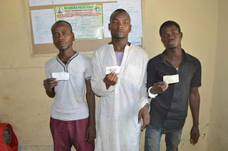 Police arrest three suspected kidnappers in Kano,