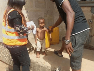 2-year-old boy maltreated by his father and stepmother in Edo