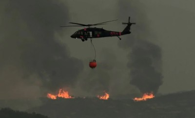 California Fire in southern region threatening another city
