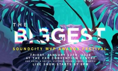 2017 Soundcity MVP Awards Festival Nominations