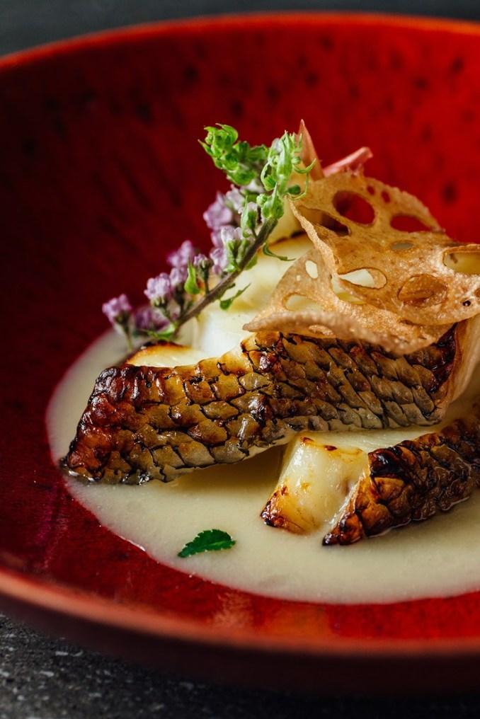 Champagne Marinated Chilean Sea Bass Recipe - Great