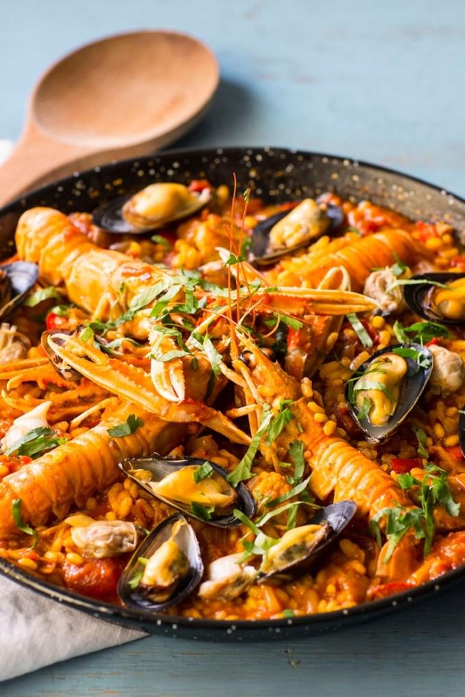 Paella Recipe - Great British Chefs