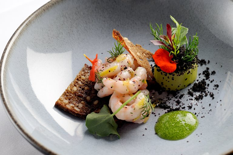 Prawns and Sorrel Recipe  Great British Chefs