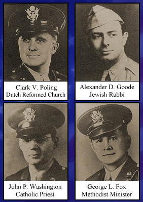 Image result for the four chaplains images