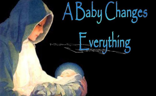 A Baby Changes Everything Isaiah 1 18
