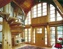 Timber Frame Homes With Beautiful Benefits - Gb&