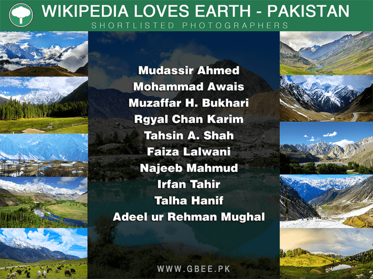 Wiki Loves Earth - shortlisted photos from Pakistan