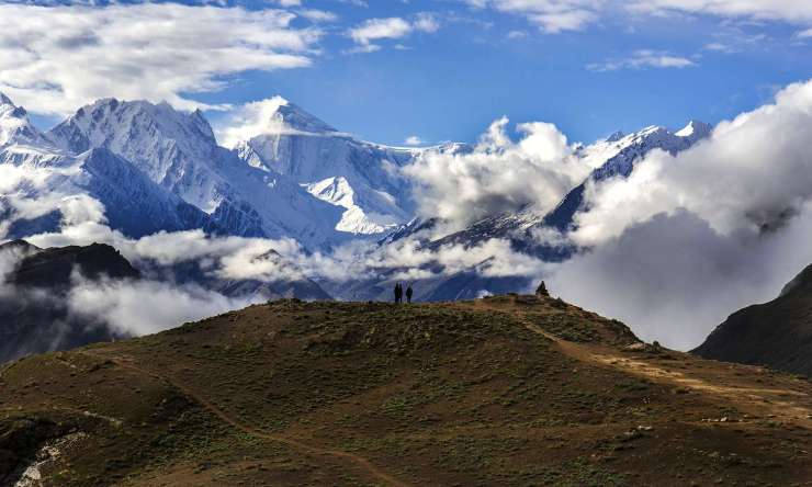 Golden Peak (Spantik Peak), seen from Duikar Hunza. — Photo by Mudassir Ahmed