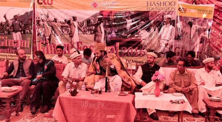 Ginani Festival in Chalt, Nagar Valley