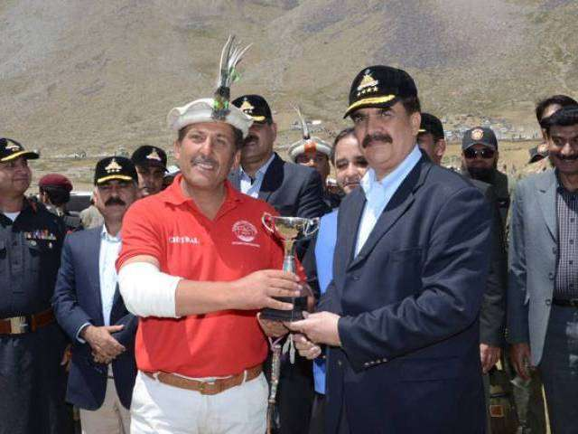General Raheel Sharif at Shandur