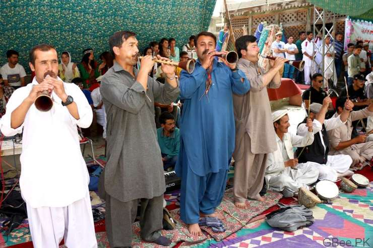 Hunza traditional music band