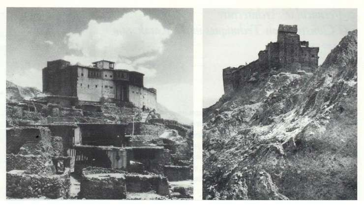 Photos of Baltit Fort taken in 1930's.