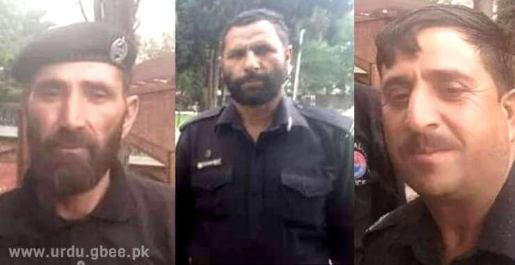 Martyrs of Gilgit Kargah Attack: Fazal Khan s/o Masoom Khan, Wakil s/o Faqir and Nawab Ur Rehman s/o Aziz U Rahman