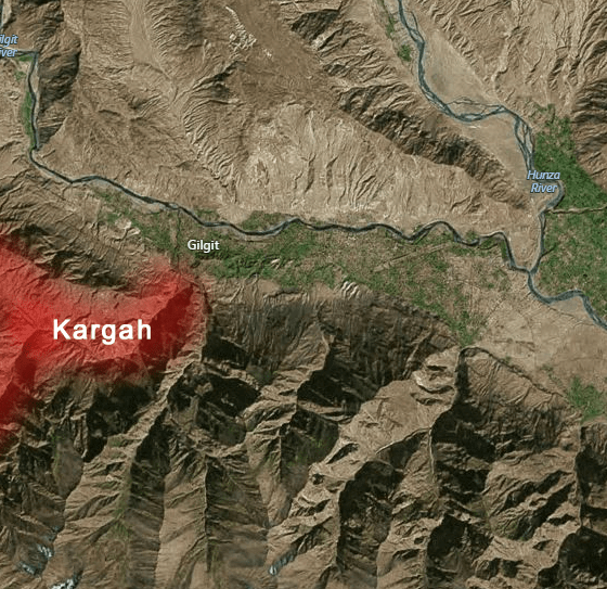 Three policemen martyred, two terrorists killed in attack on Kargah Nullah check post in Gilgit